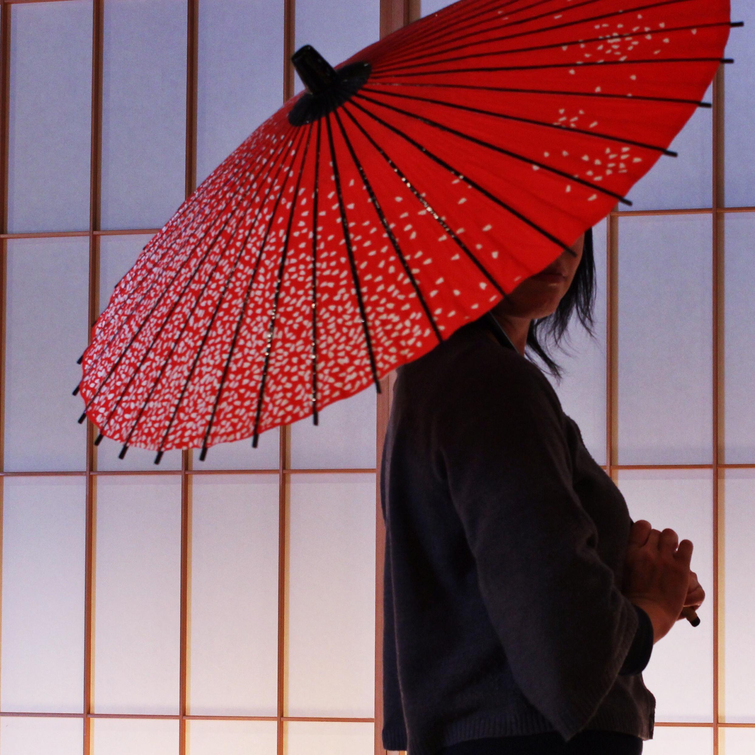 ②副賞「和日傘」